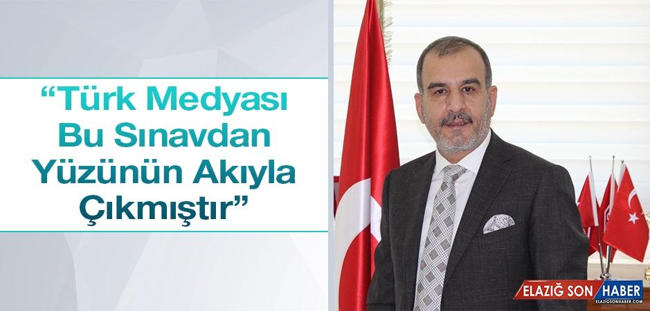 Başkan Alan'dan 24 Temmuz Basın Bayramı Mesajı