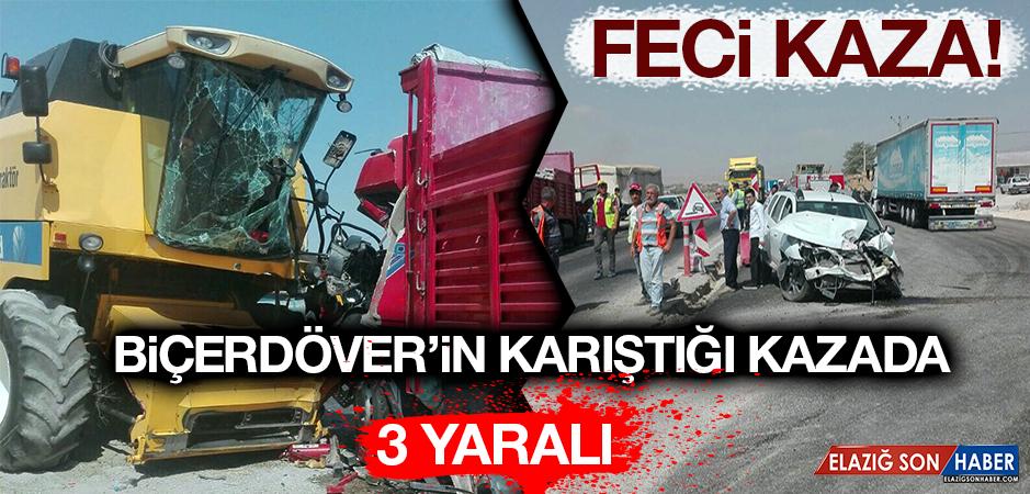 Elazığ-Bingöl Karayolunda Zincirleme Kaza