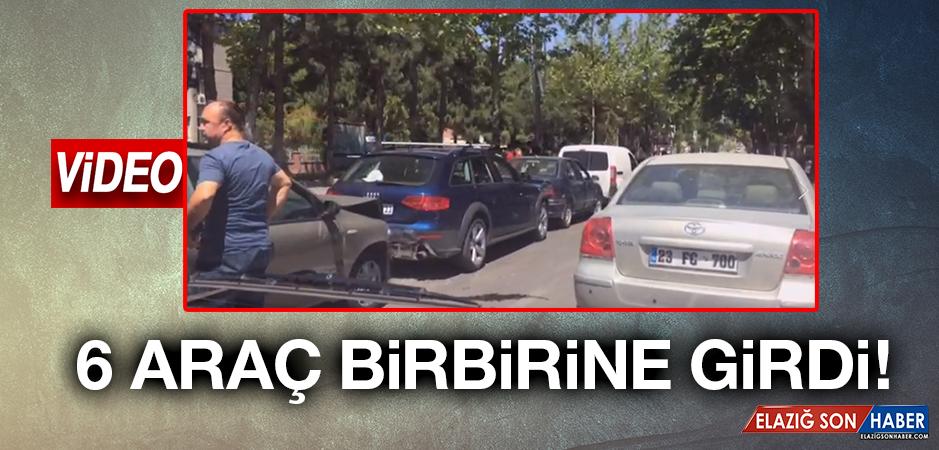 Elazığ'da Zincirleme Trafik Kazası