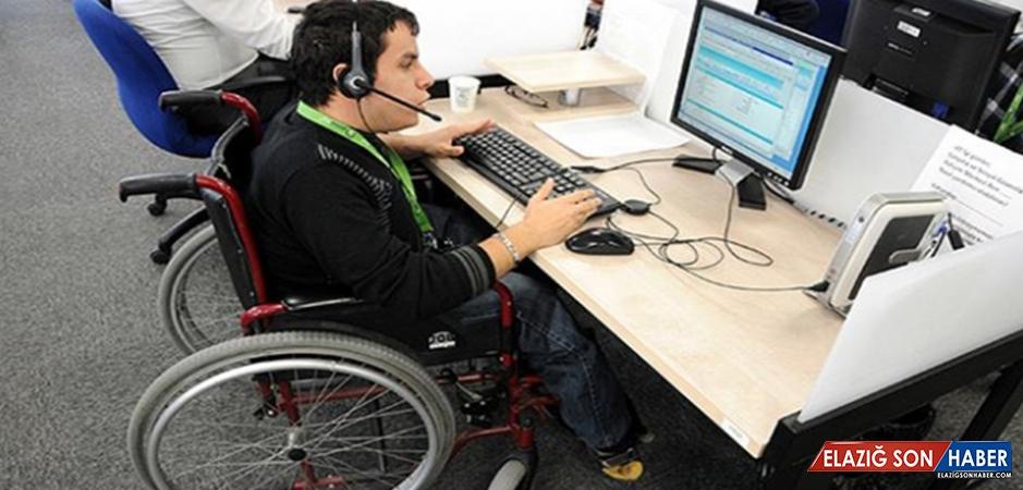2018'de Kamuya 5 Bin Engelli Ataması Yapılacak