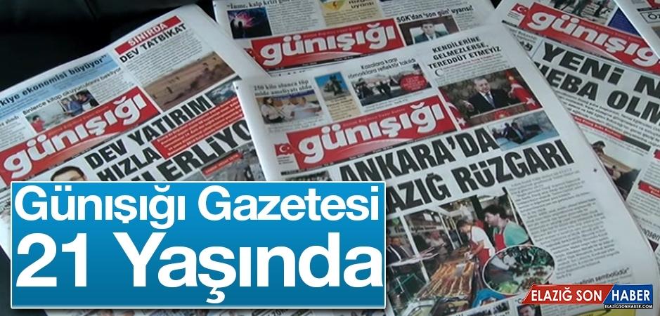 Günışığı Gazetesi 21. Yaşını Kutluyor