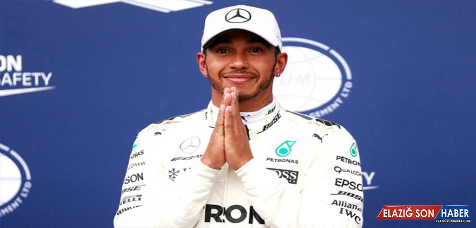 Lewis Hamilton'dan Sezonun 8. Galibiyeti