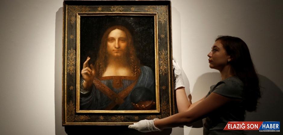 """Da Vinci'nin 'Salvator Mundi""""Sine Rekor Fiyat"""