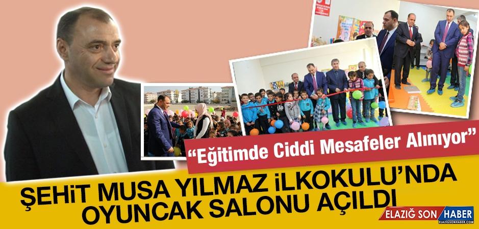 Şehit Musa Yılmaz İlkokulu'nda Oyuncak Salonu Açıldı