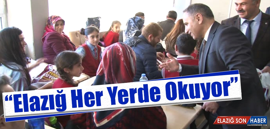 Öğrenciler, Veliler, Öğretmenler Hep Birlikte Kitap Okudu