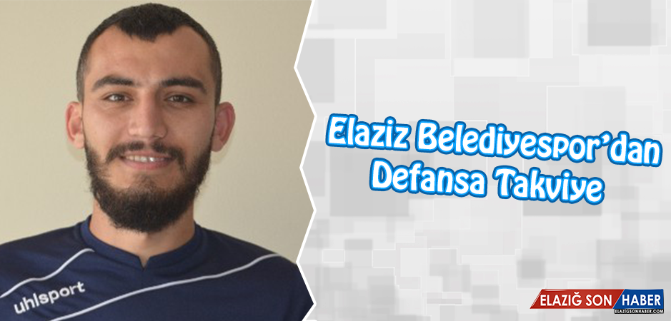 Elaziz Belediyespor, Altan Kılıç İle Sözleşme İmzaladı