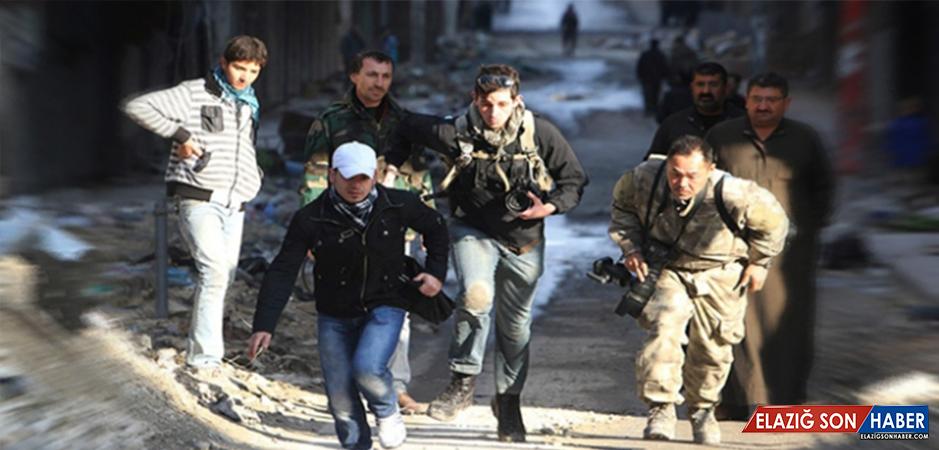 Suriye'de 2017'de 42 Gazeteci Hayatını Kaybetti