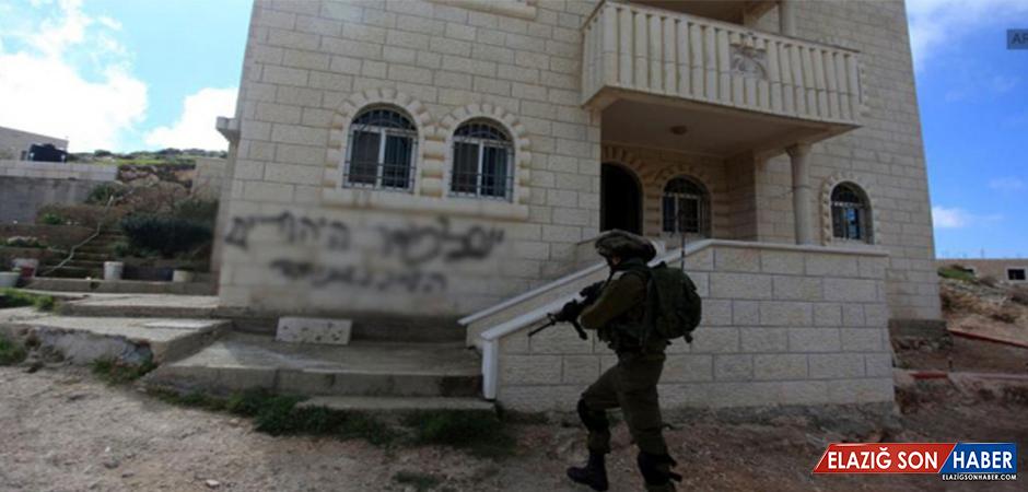 Batı Şeria'da Yahudi Yerleşimcilerden Irkçı Saldırı