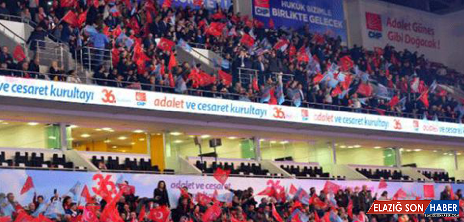 CHP'de Olağan Kurultay Günü