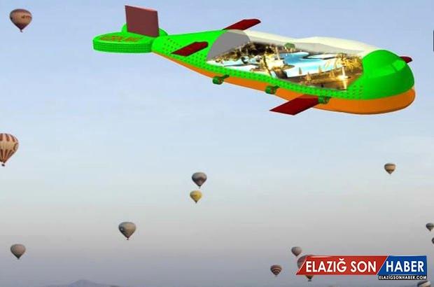 Havadaki Gözümüz Olacak! İşte İlk Türk Hava Gemisi Kuzgun'un Detayları