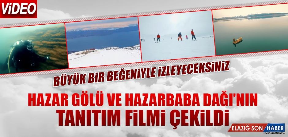 Hazar Gölü ve Hazarbaba Dağı'nın Tanıtım Filmi Çekildi