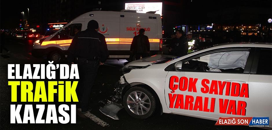 Hazardağlı Kavşağında Trafik Kazası