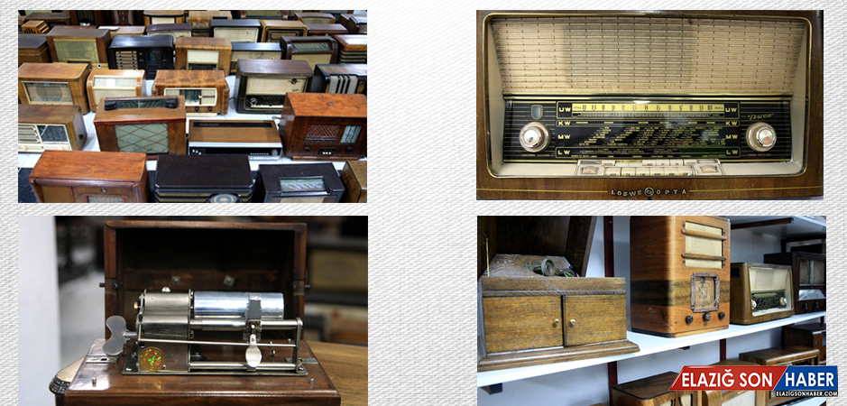 Malatya Büyükşehir Belediyesi'nden Radyo ve Gramofon müzesi