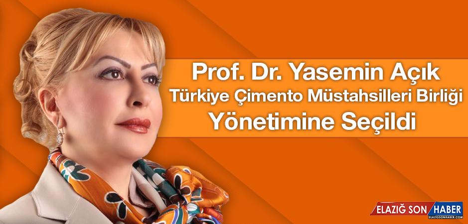 Açık, Türkiye Çimento Müstahsilleri Birliği Yönetimine Seçildi