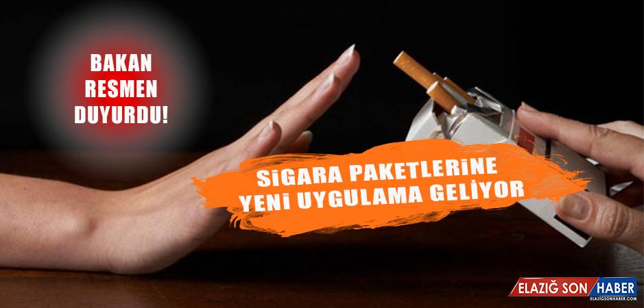"""Sigara Paketlerine """"Tek Tip"""" Uygulaması Başlıyor"""
