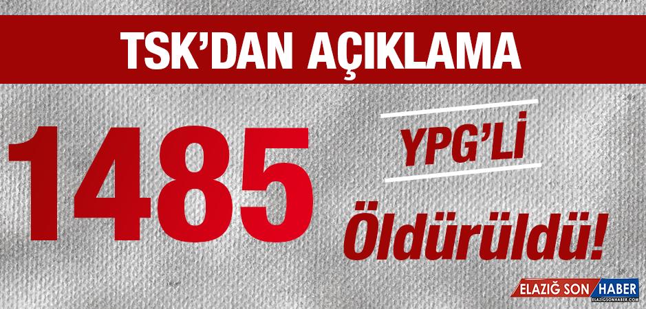 TSK, Zeytin Dalı Harekatı'nın Son Rakamlarını Açıkladı