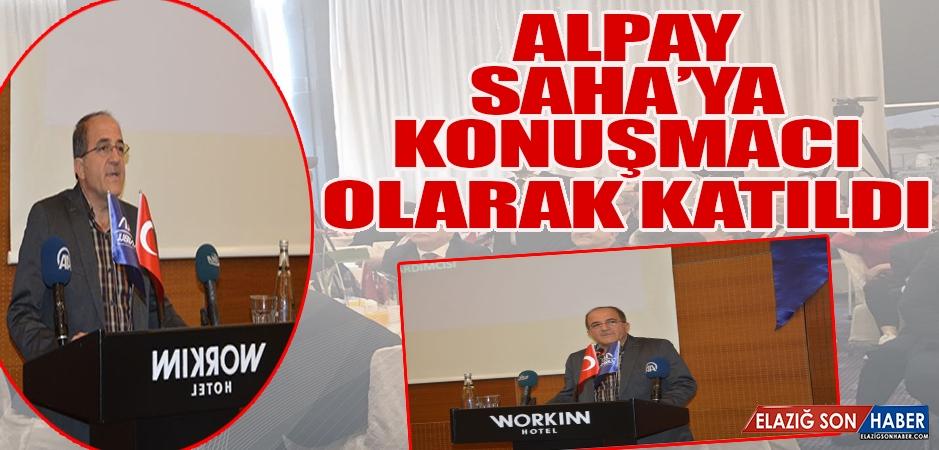 Alpay, SAHA'ya Konuşmacı Olarak Katıldı