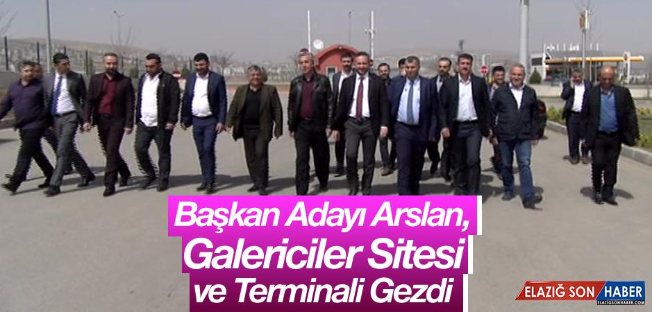 Başkan Adayı Arslan, Seçime Günler Kala Ziyaretlerini Sürdürüyor