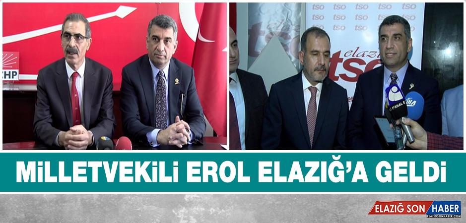 CHP Milletvekili Elazığ'da