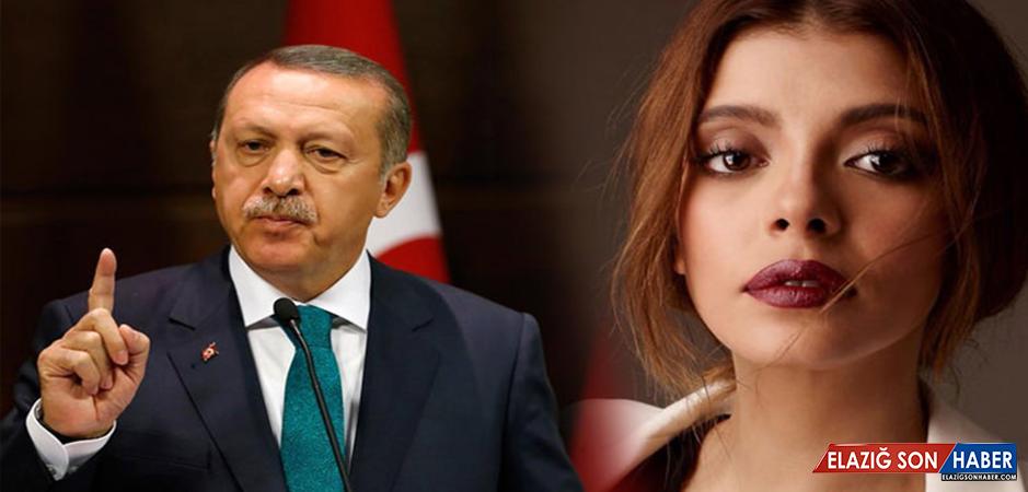 Cumhurbaşkanı Erdoğan, Ünlü Oyuncu Selin Şekerci Hakkındaki Şikayetinden...