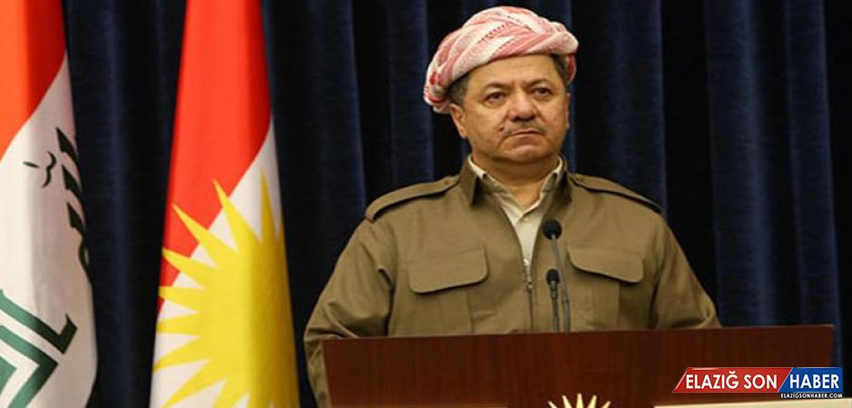 'Diz Çöken' Barzani'den İlk Açıklama Geldi