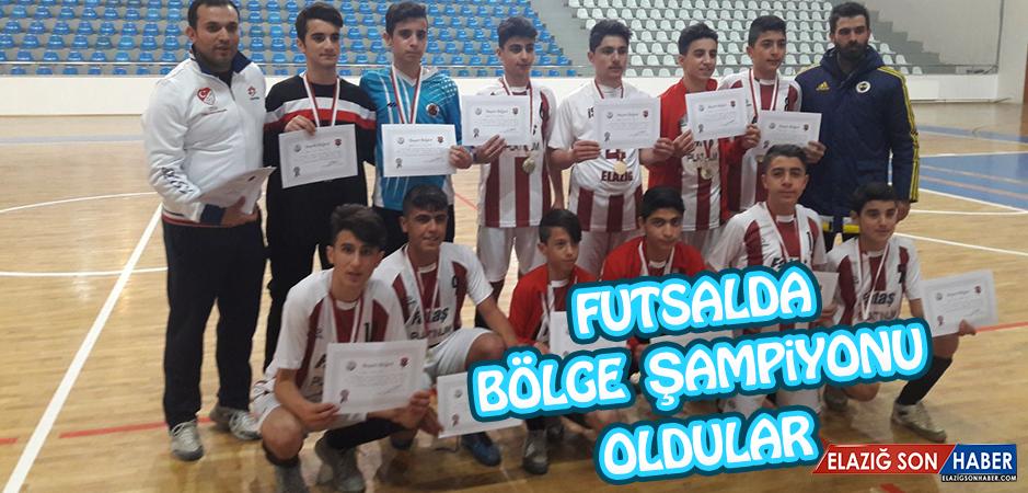 İstiklal Ortaokulu Futsalda Bölge Şampiyonu Oldu
