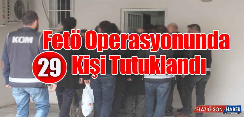 Operasyonda Gözaltına Alınan Şüpheliler Tutaklandı