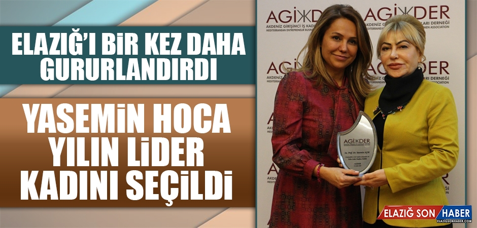 Prof. Dr. Açık, Yılın Lider Kadını Seçildi