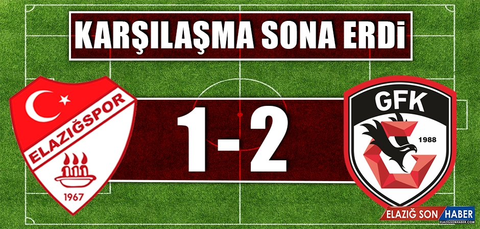 TY Elazığspor - Gazişehir Gaziantep FK Karşılaşması