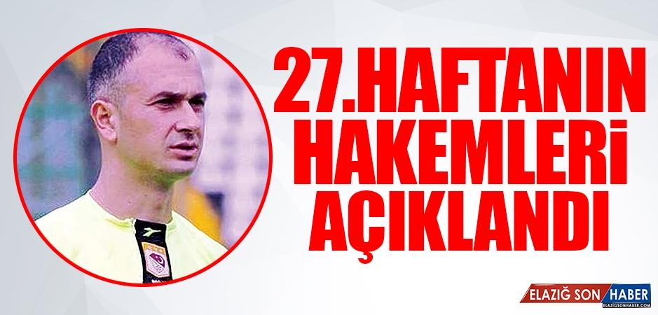 TY Elazığspor-Gazişehir Gaziantep Maçını Kim Yönetecek?