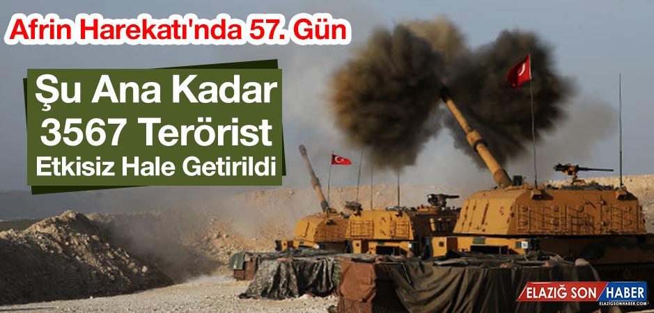 Zeytin Dalı Harekatı'nda 57. Gün