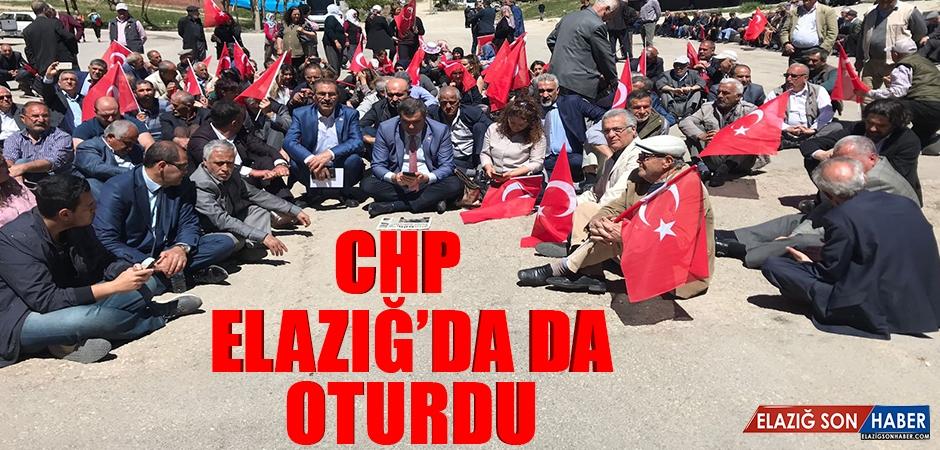 CHP Elazığ'da da Oturdu