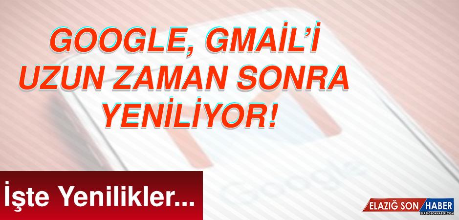 Google, Gmail'i Değiştiriyor