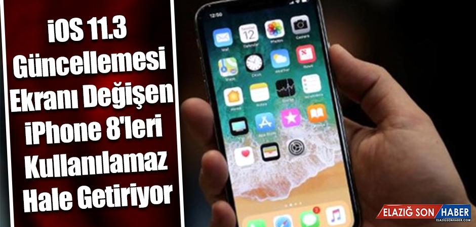 iOS 11.3 Güncellemesi iPhone 8'leri Kullanılamaz Hale Getiriyor
