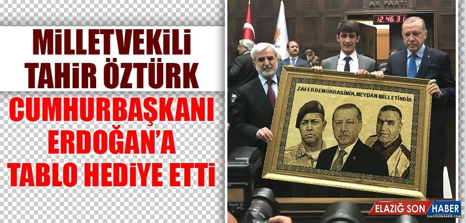 Milletvekili Öztürk'ten Cumhurbaşkanı Erdoğan'a Anlamlı Hediye