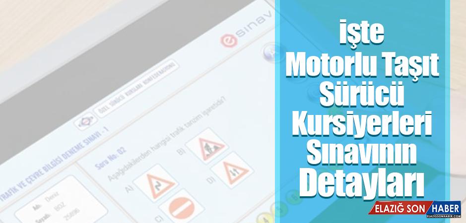 Motorlu Taşıt Sürücü Kursiyerleri Sınavı Ne Zaman?