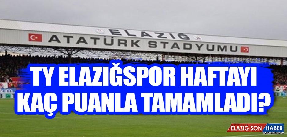 TY Elazığspor 31. Haftayı Kaçıncı Sırada Tamamladı