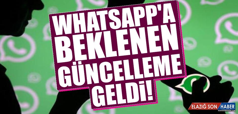 Whatsapp'ta Milyonları Sevindirecek Özellik!