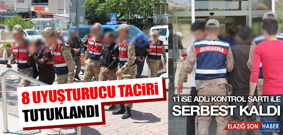 8 Uyuşturucu Taciri Tutuklandı