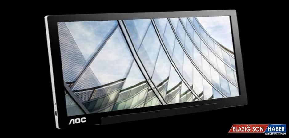 AOC, Yeni Taşınabilir Usb-C Monitörünü Piyasaya Çıkarıyor