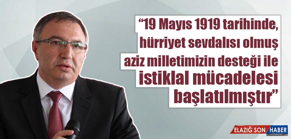 Cangül, 19 Mayıs Atatürk'ü Anma, Gençlik ve Spor Bayramını Kutladı