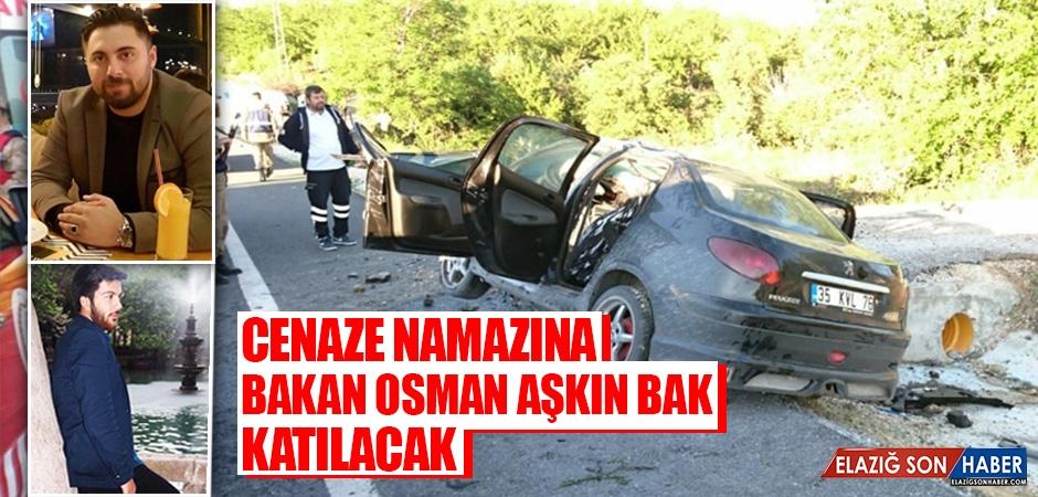 Cenaze Namazına Bakan Osman Aşkın Bak katılacak