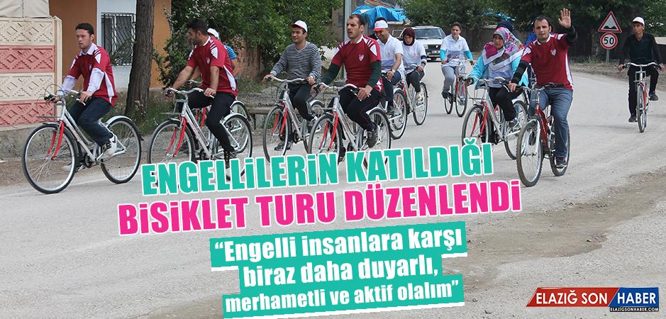 Engelli ve Engelsiz Bireyler Bisiklet Turuna Katıldı