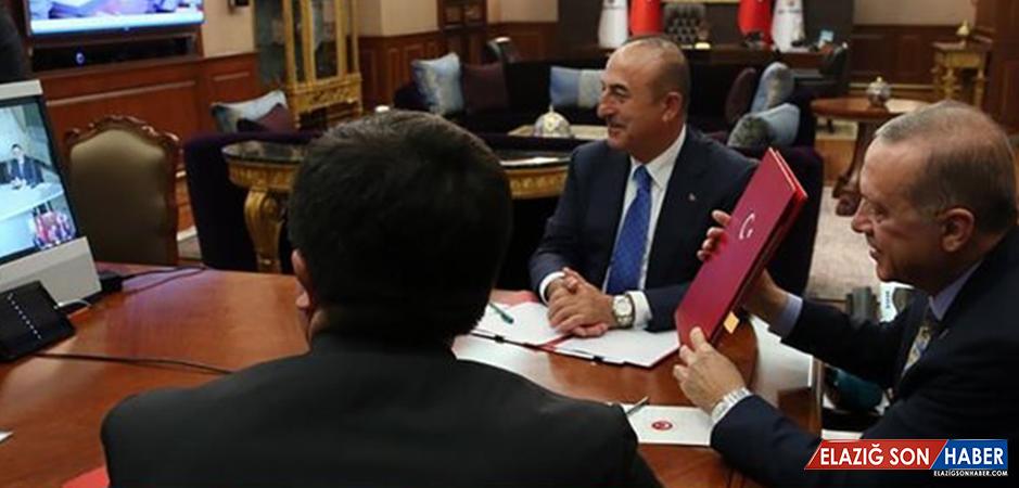 Erdoğan ve Maduro Telekonferansla Anlaşma İmzaladı