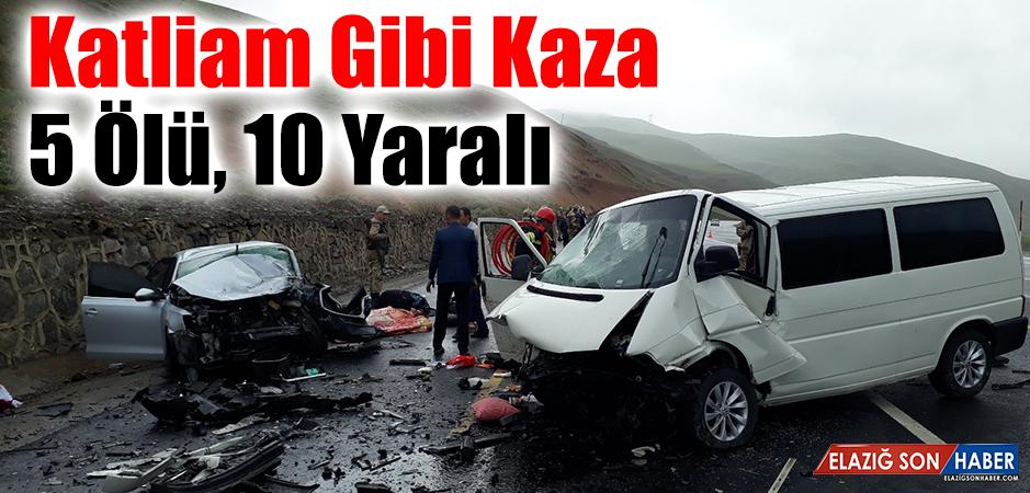Erzurum - Bingöl Karayolu'nda Katliam Gibi Kaza!