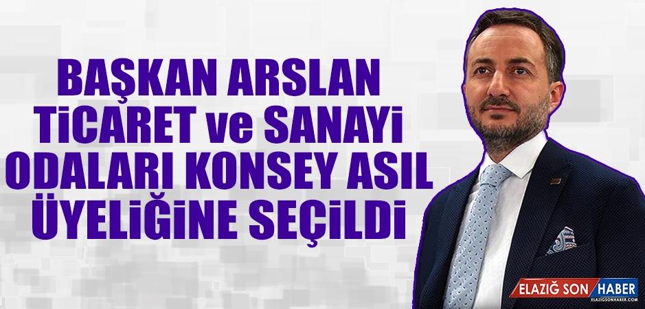 ETSO Başkanı Arslan, Konsey Asıl Üyeliğine Seçildi