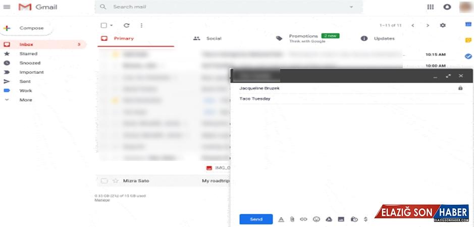 Gmail'ın Akıllı Yazma Özelliği E-Postaları Sizin İçin Yazacak