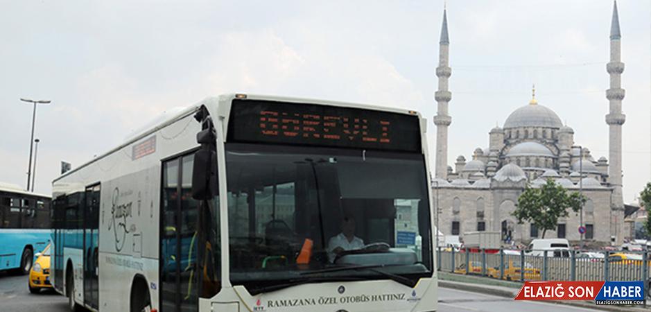 İETT, Ramazana Özel Otobüs Hatlarını Hizmete Aldı