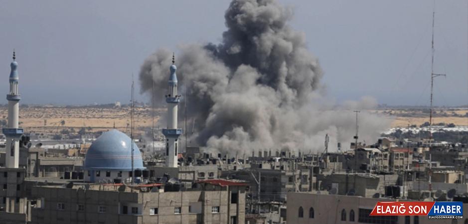 İsrail Gazze'ye Hava Operasyonu Düzenledi