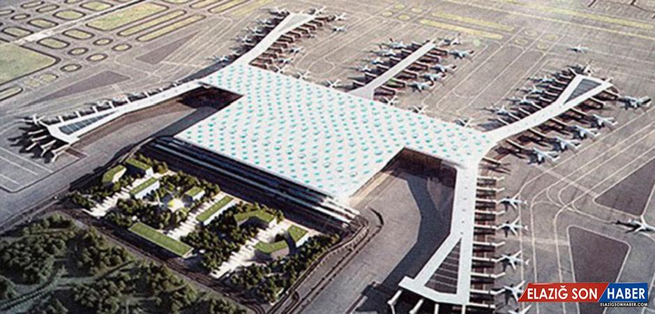 İstanbul Yeni Havalimanı'nın Yüzde 89'u Tamamlandı